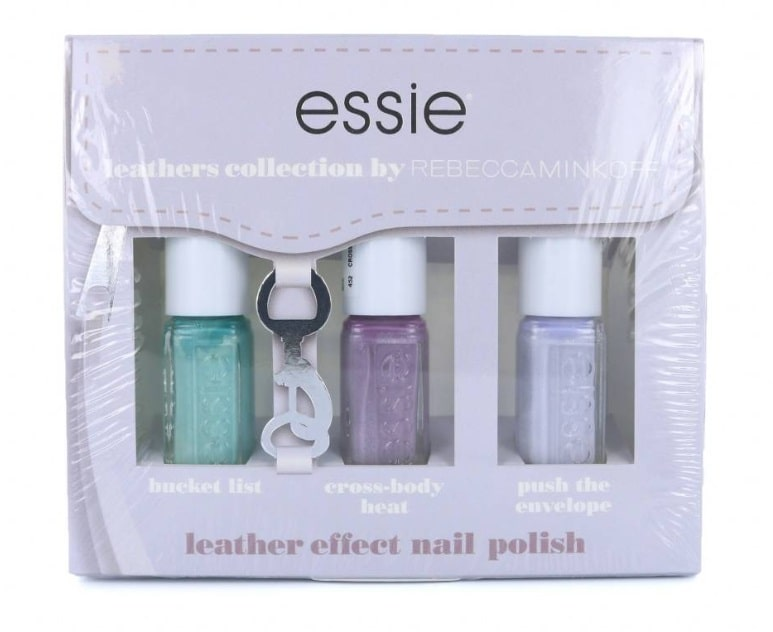ESSIE SET ESMALTES LEATHERS COLLECTION EFFECT (3X5 ML) SUPER OFERTA