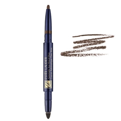 ESTEE LAUDER AUTOMATIC DUO EYE PENCIL AUTOMATIC 02 BROWN