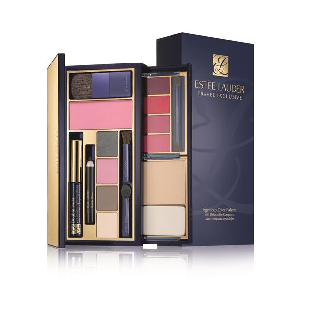 ESTEE LAUDER INGENIOUS COLOR PALETTE TRAVEL EXCLUSIVE