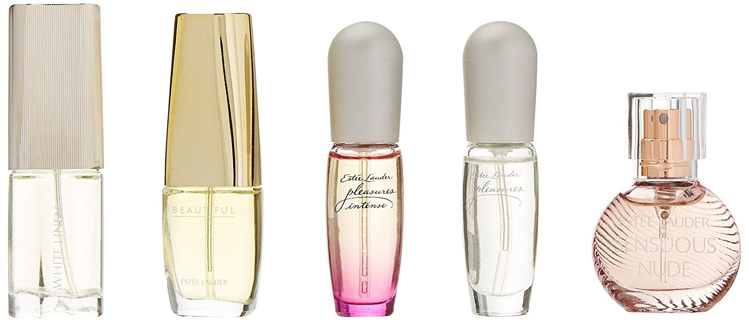 ESTEE LAUDER THE FRAGANCE COLLECTION MINIATURAS X 5 UDS