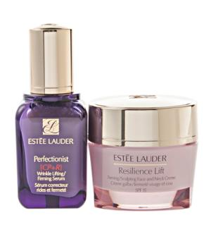 ESTEE LAUDER FIRMING SOLUTIONS (PERFECTIONIST CP+ 50 ML + RESILIENCE LIFT 50 ML) TRAVEL SET