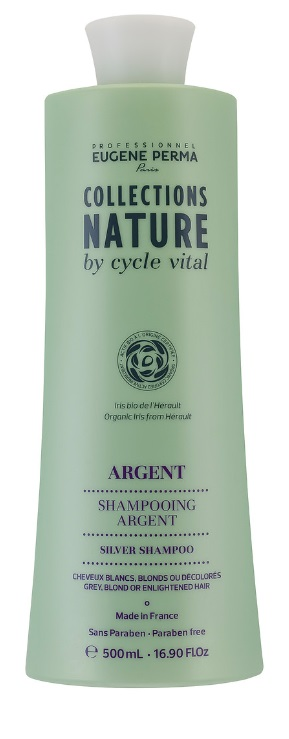 EUGENE PERMA COLLECTIONS NATURE BY CYCLE CHAMPU ARGENT 500ML