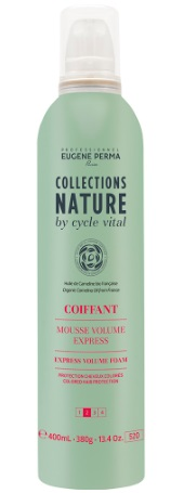 EUGENE PERMA COLLECTIONS NATURE BY CYCLE ESPUMA VOLUMEN EXPRES 400ML