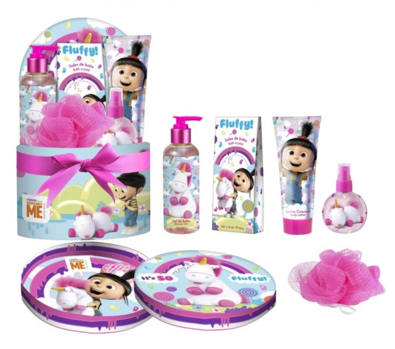 FLUFFY EDC 120ML + 4 PIEZAS SET REGALO