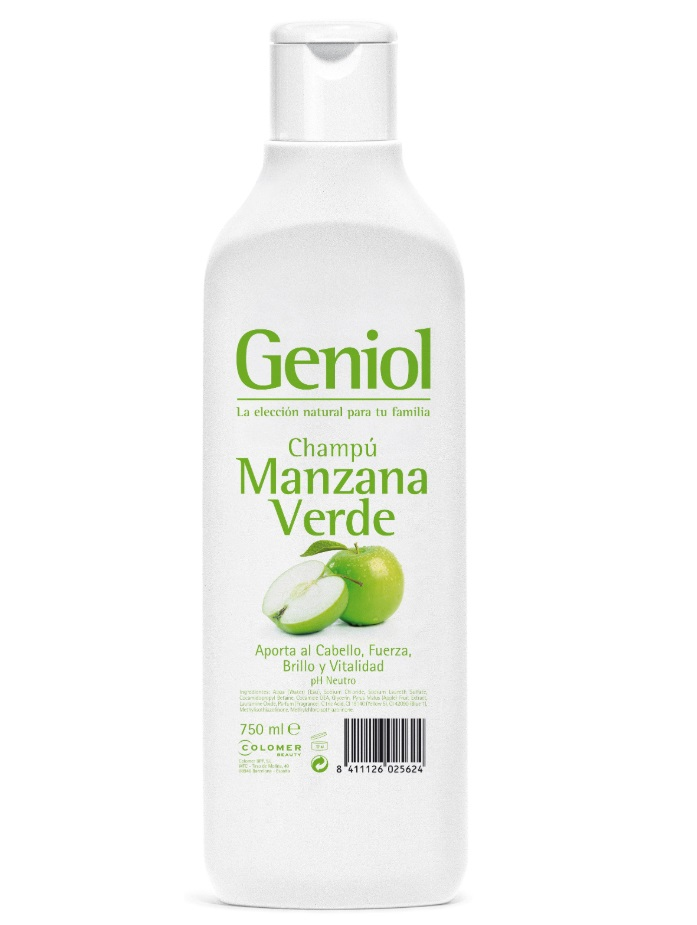 GENIOL CHAMPÚ MANZANA VERDE 750ML