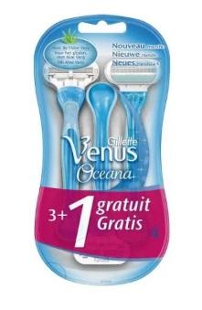 Gillette Venus Oceana Maquinas Desechables 3 + 1 Unidades 7b3557dbc542