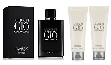 ARMANI ACQUA DI GIO PROFUMO EDT 40 ML + GEL 75 ML + BALSAMO 75 ML SET REGALO