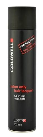 GOLDWELL SALON ONLY HAIR LACQUER SUPER FIRM MEGA HOLD 600ML