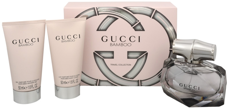 GUCCI BAMBOO EDP 50 ML + B/L 50 ML + GEL 50 ML SET REGALO