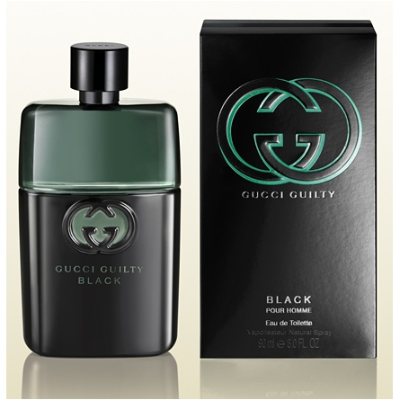 GUCCI GUILTY POUR HOMME BLACK EDT 90 ML