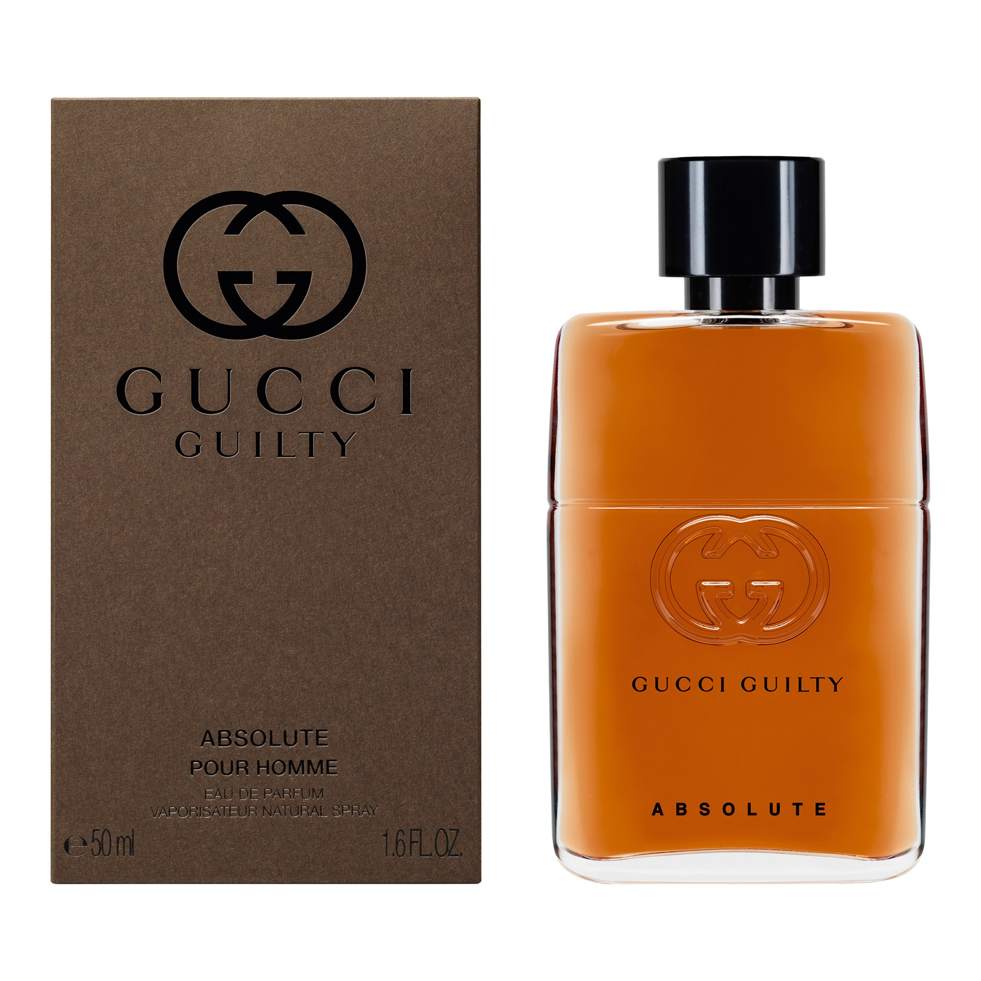 gucci guilty pour homme absolute eau de parfum 50 ml vapo. Black Bedroom Furniture Sets. Home Design Ideas