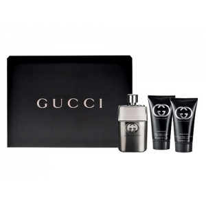 GUCCI GUILTY POUR HOMME EDT 90 ML + A/S 75 ML + S/G 50 ML SET REGALO