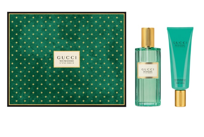 GUCCI MEMOIRE D´UNE ODEUR EDP 100 ML + GEL 75 ML SET REGALO