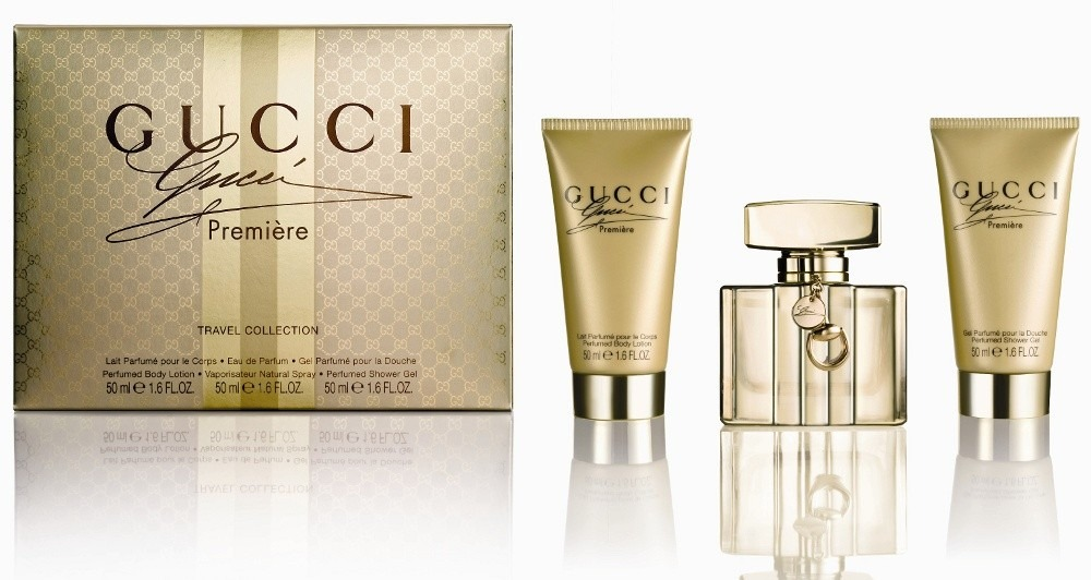 GUCCI PREMIERE EDP 50 ML + B/L 50 ML + GEL 50 ML TRAVEL SET