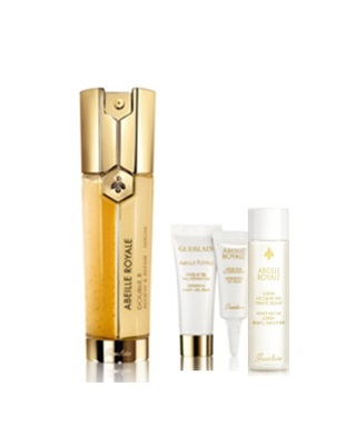 GUERLAIN ABEILLE ROYALE SERUM DOUBLE 50 ML SET REGALO