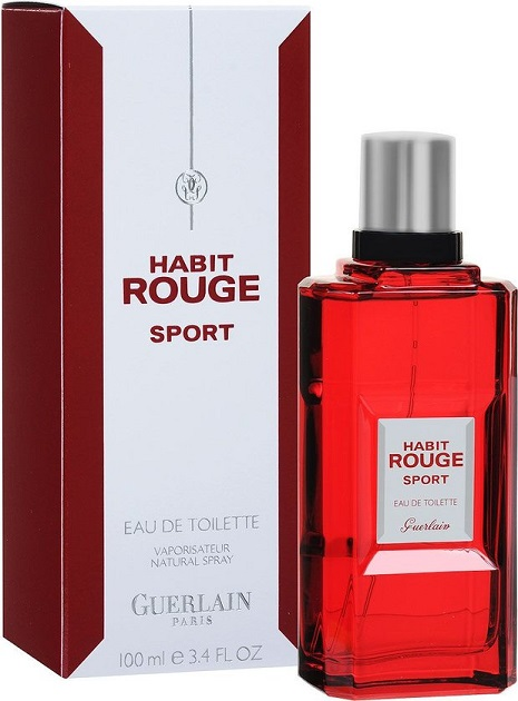 guerlain habit rouge sport eau de toilette 100ml. Black Bedroom Furniture Sets. Home Design Ideas