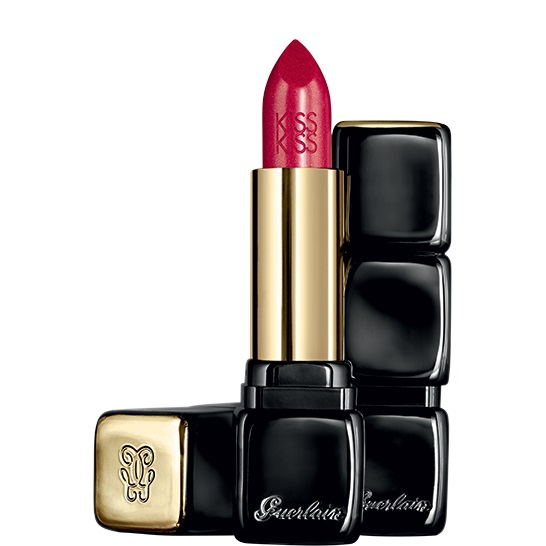 GUERLAIN KISSKISS 322 RED ON FIRE 3.5 GR