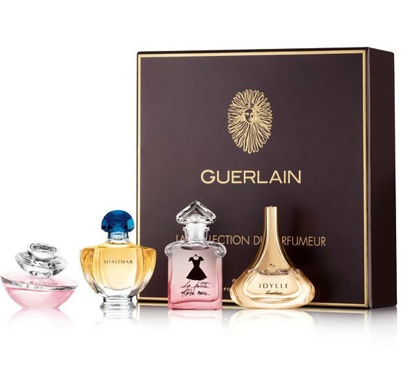 GUERLAIN CLASSIC MINIATURE COLLECTION X 4 SET REGALO
