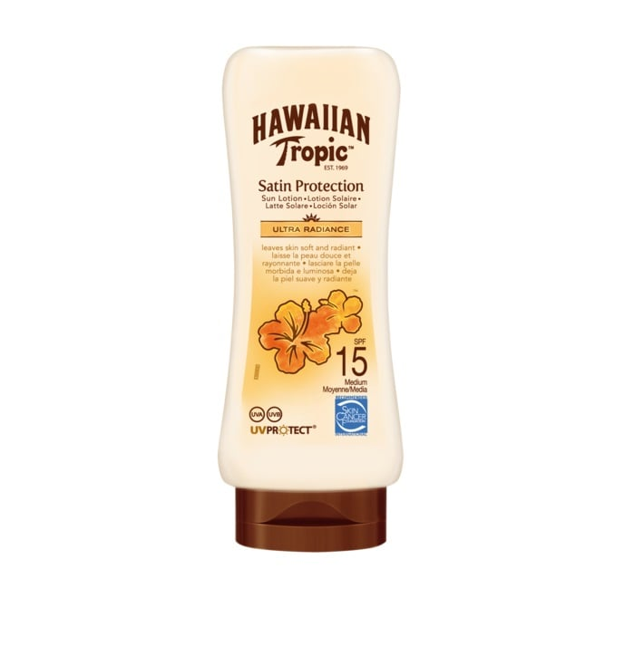 HAWAIIAN TROPIC SATIN PROTECTION SPF 15 180 ML