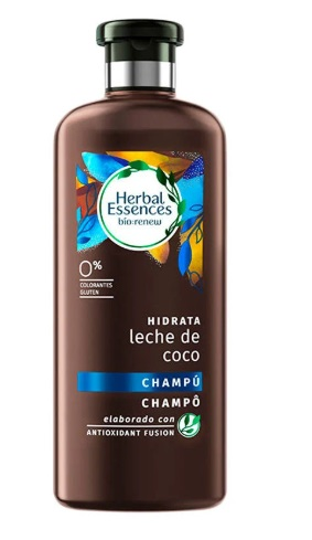 HERBAL ESSENCES BIO CHAMPU LECHE DE COCO 400ML