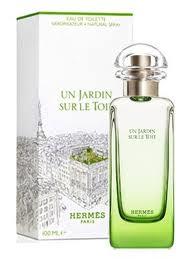 Hermes un jardin sur le toit eau de toilette 50 ml vapo - Hermes un jardin en mediterranee body lotion ...