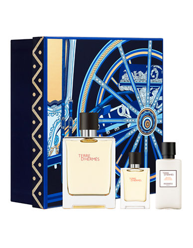 HERMES TERRE D´HERMES EDT 100 ML + EDT 12 ML + A/S LOCION ML SET REGALO
