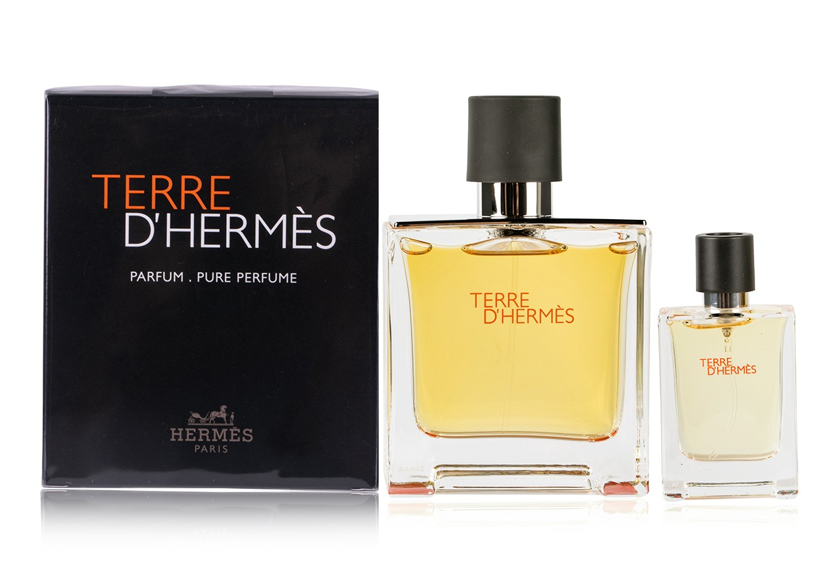 HERMES TERRE D\'HERMES EDP 75 ML + EDP 12.5 ML SET REGALO
