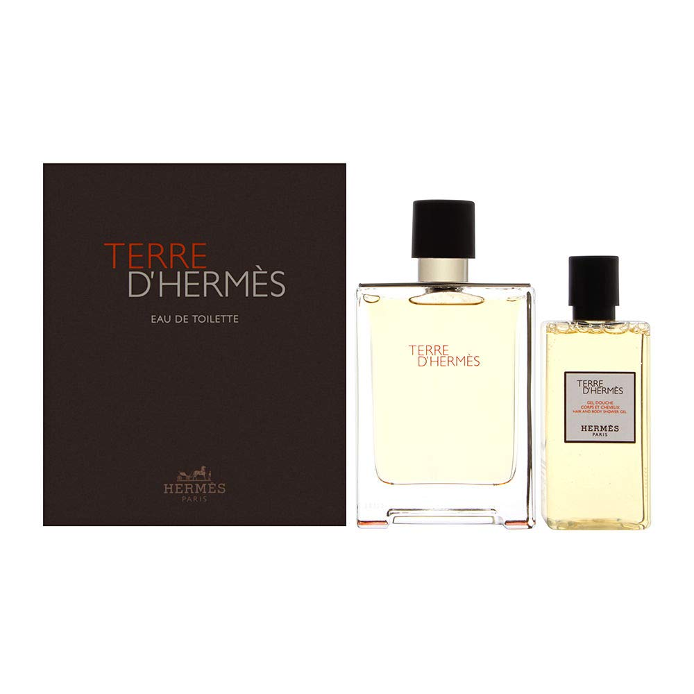 HERMES TERRE D\'HERMES EDT 100 ML + S/G 80 ML SET REGALO