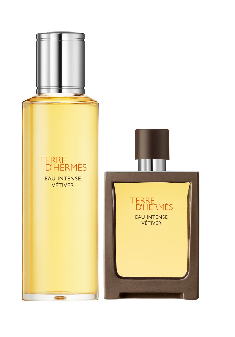 HERMES TERRE D\'HERMES EAU INTENSE VETIVER EDT 30 ML + RECARGA 125 ML SET REGALO