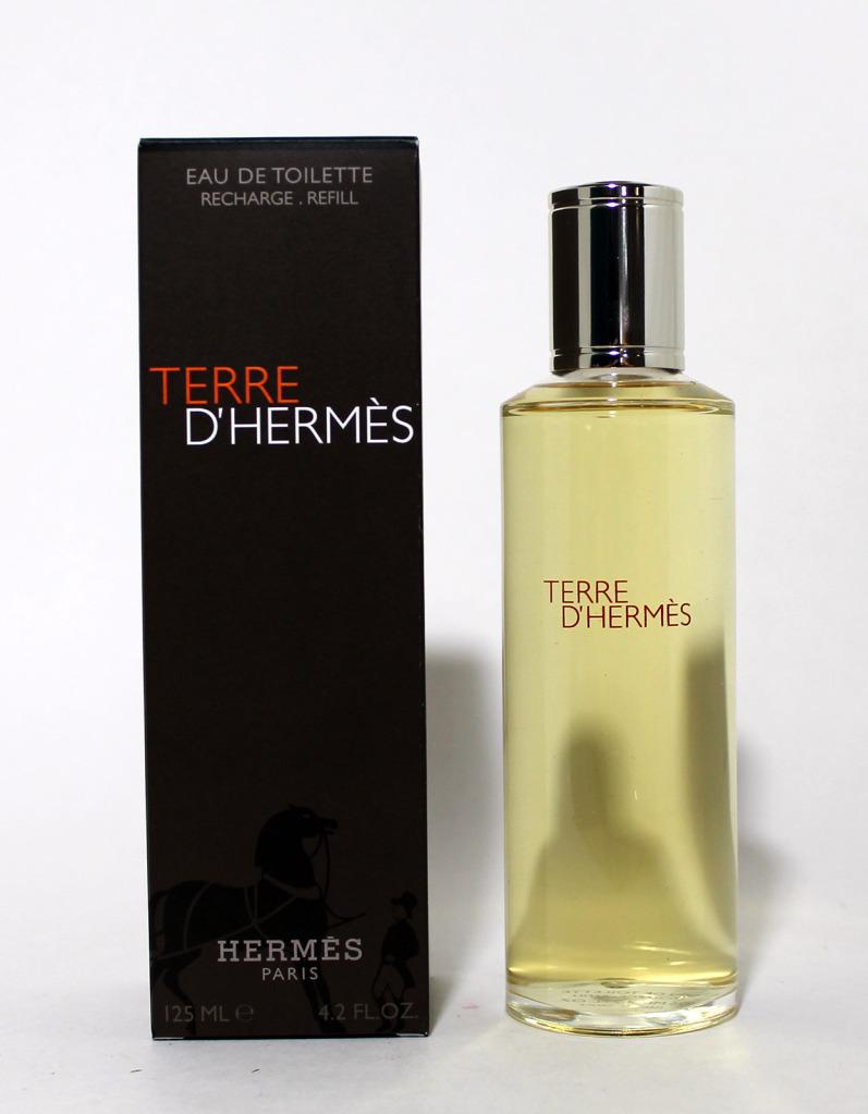 Hermes Terre Dhermes Eau De Toilette 125 Ml Recarga D Tres Fraiche For Men Edt 125ml