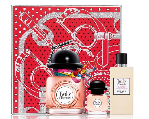 HERMES TWILLY D\'HERMES EDP 85ML + EDP 7.5 ML+ BODY LOTION 80ML