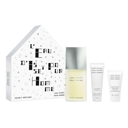 ISSEY MIYAKE L´EAU D´ISSEY POUR HOMME EDT 125 ML + S/GEL 75 ML + A/S BALM 50 ML SET