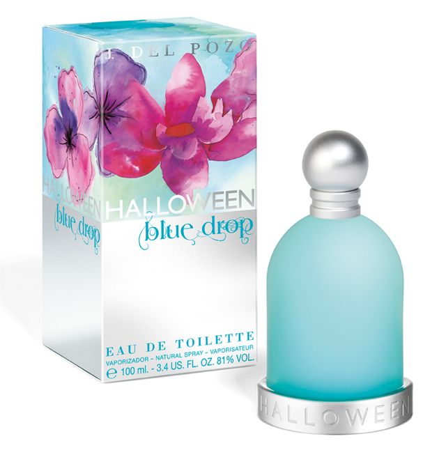 JESUS DEL POZO HALLOWEEN BLUE DROP EDT 50 ML VP.