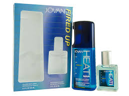 JOVAN HEAT FIRED UP 250 ML BODY SPRAY + A/SHAVE 60 ML SET