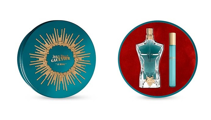 JPG JEAN PAUL GAULTIER LE BEAU EDT 125 ML + MINI 10 ML SET REGALO