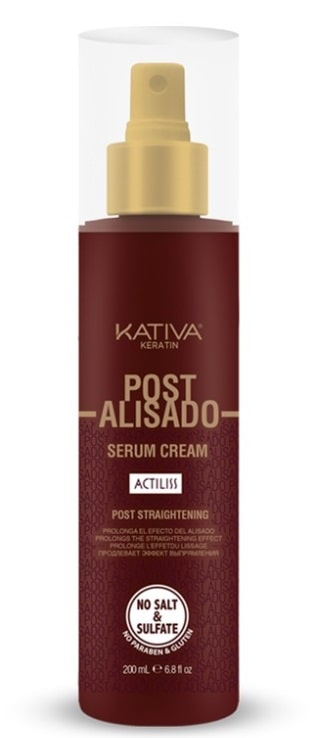 KATIVA POST-ALISADO SERUM CREAM 200ML
