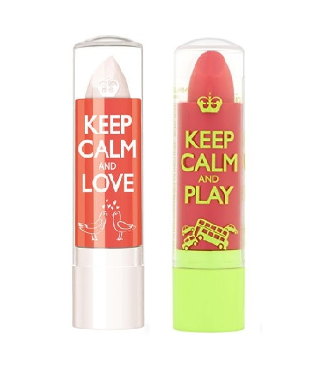 RIMMEL KEEP CALM AND LIPBALM DUO 040 ROSE BLUSH