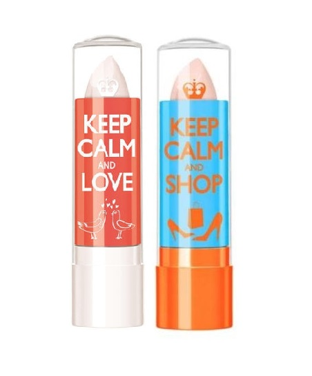 RIMMEL KEEP CALM AND LIPBALM DUO 010 CLEAR