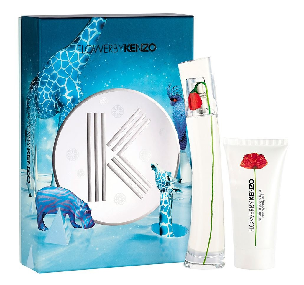 KENZO FLOWER EDP 30 ML + BODY LOTION 50 ML SET REGALO