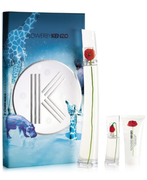 KENZO FLOWER EDP 100ML + EDP 15 ML + BODY CREAM 50 ML SET