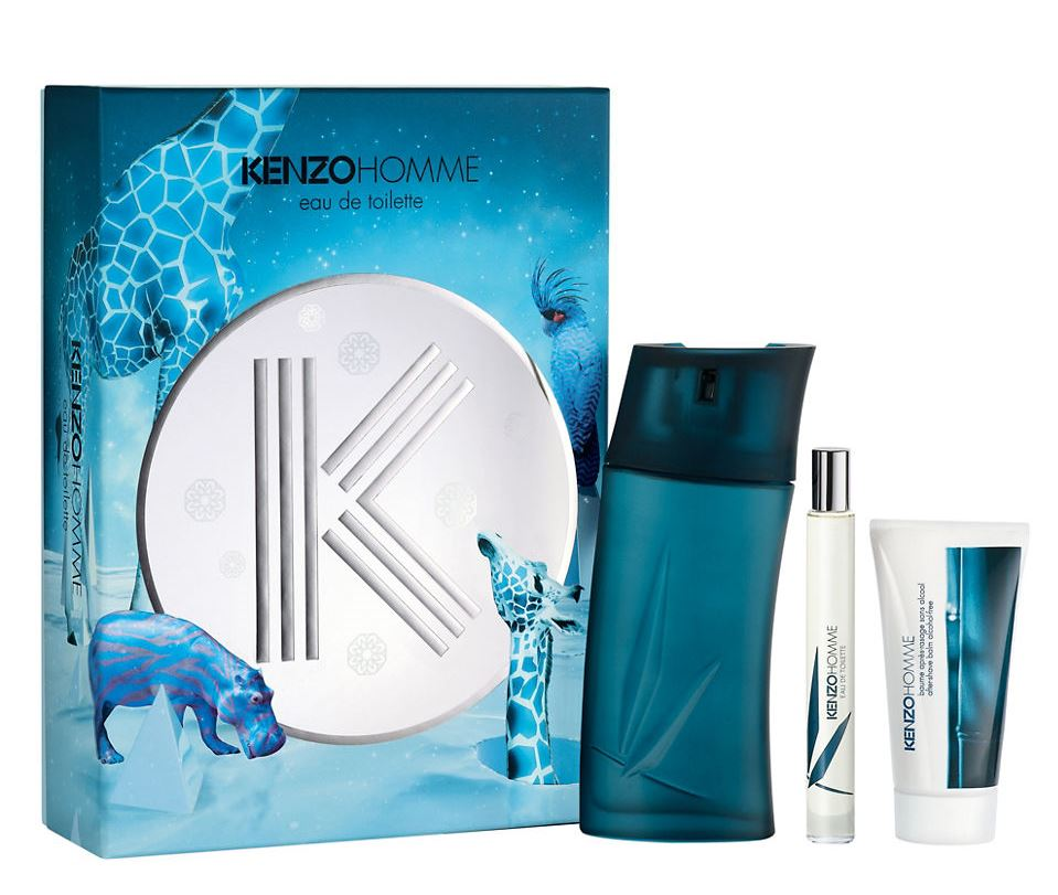 KENZO POUR HOMME EDT100 ML + MINI EDT 15 ML + A/S BALM 50 ML SET REGALO