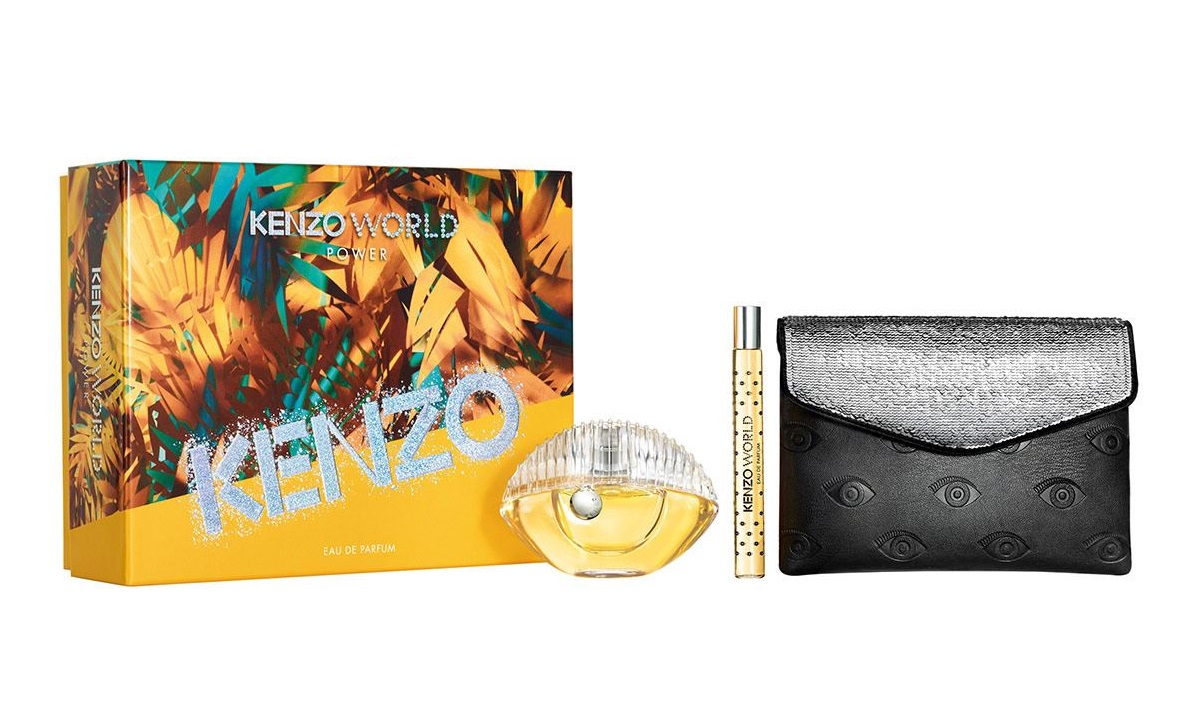 KENZO WORLD POWER EDP 75 ML + MINI + NECESER GIFTSET