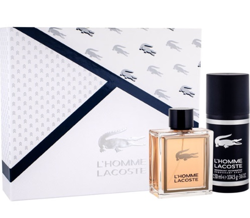 LACOSTE L´HOMME EDT 100ML + DEO VAPO 150 ML SET REGALO