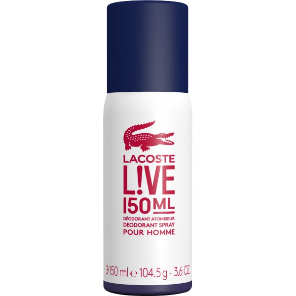 LACOSTE LIVE DEO SPRAY 150 ML