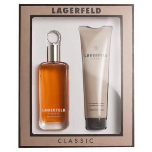 LAGERFELD CLASSIC EDT 100 ML + S/G 150 ML SET REGALO