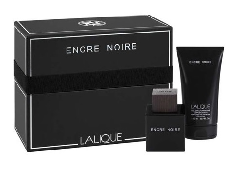 LALIQUE ENCRE NOIRE EDT 100 ML + SHOWER GEL 150 ML SET REGALO