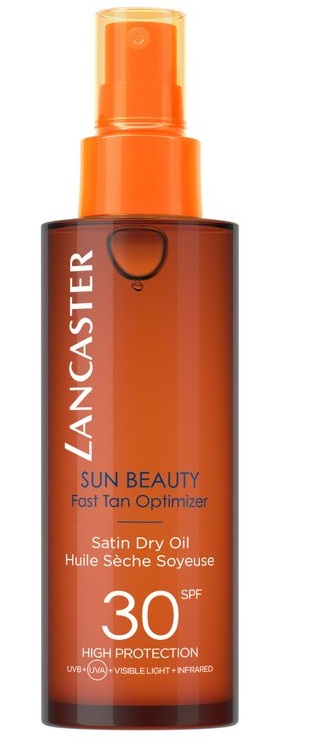 LANCASTER SUN BEAUTY BODY SATIN OIL ACEITE SEDOSO SPF 30 150 ML