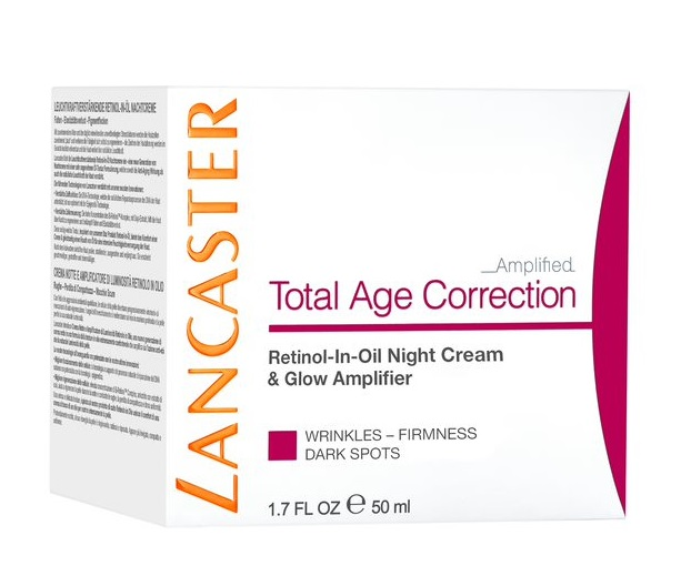 LANCASTER TOTAL AGE CORRECTION RETINOL IN OIL CREMA NOCHE 50 ML