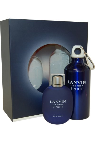 LANVIN L´HOMME SPORT EDT 100 ML + BOTE RELLENABLE SPORT SET REGALO