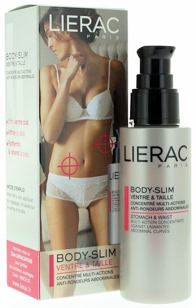 LIERAC BODY SLIM VENTRE & TAILLE 100 ML